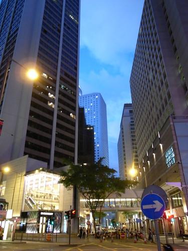 .....Hong Kong中環夜景.....