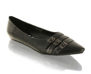 Priceless Black Flats