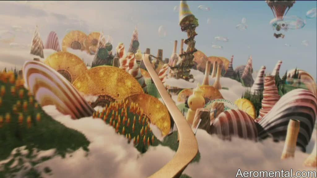 Imaginarium del Doctor Parnassus Mundo mágico de dulces