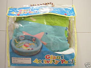 Preloved giant activity pool for baby - $25