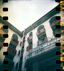 007v2 (yaoifest) Tags: school film work flag philippineflag bbf konicavx100 cleanandgreen