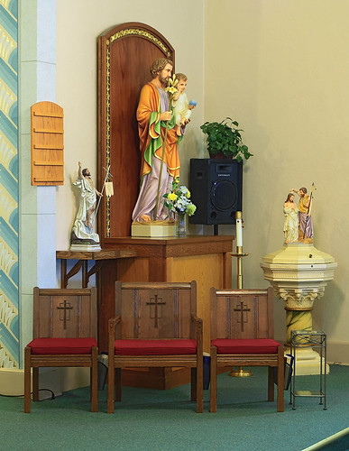 Our Lady Help of Christians Roman Catholic Church, in Weingarten, Missouri, USA - Saint Joseph