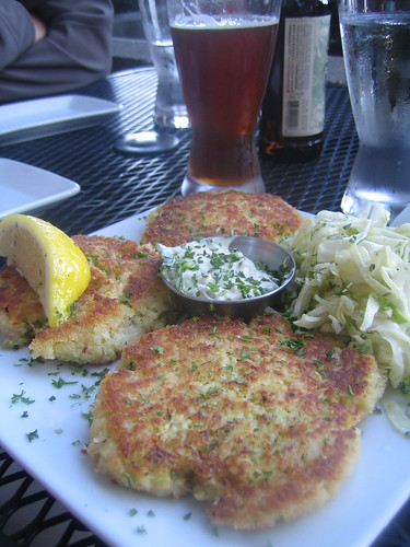 Mmm crab cakes