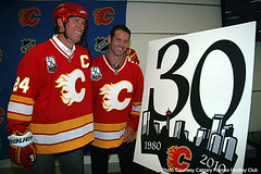 Pepper and Connie in Flames Retro Jerseys