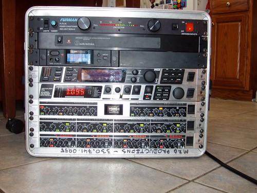 Audio Processing Rack