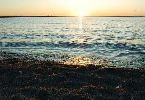 229c:365海滩上的日落