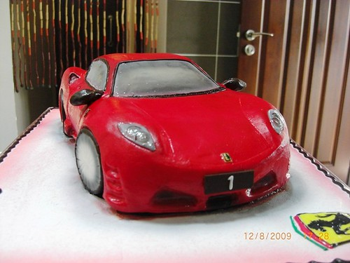 Ferrari cake by bake&chilled