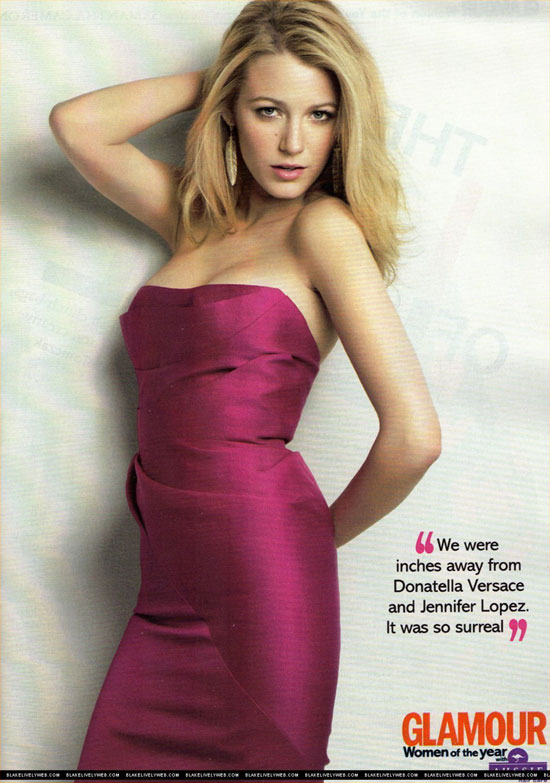 Blake Lively – Glamour Magazine August 2009 - beautiful girls