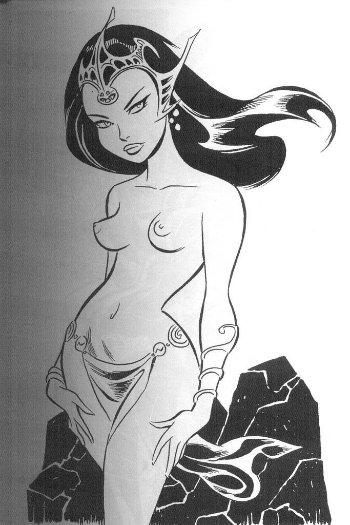 Dejah Thoris (Girls: Bruce Timm Sketchbook, 2009)