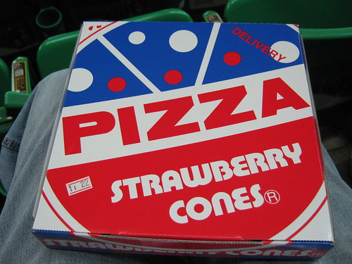 Everyone knows that Strawberry Cones is synonymous with pizza!