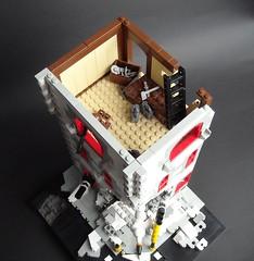 Second Floor (Arterin) Tags: lego apocalypse cafecorner apocalego legoapocalypse