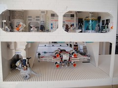 How do I get to sick bay from here on this Tuan-taun? (brickplumber) Tags: starwars lego echo legostarwars hoth episodev battles bases starwarslego fbtb echobase
