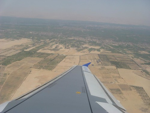 Luxor visto do ar: Egipto