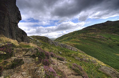 England: Cumbria - Lingmoor Fells (Tim Blessed) Tags: uk sky mountains clouds landscapes countryside scenery cumbria lakedistrictnationalpark singlerawtonemapped