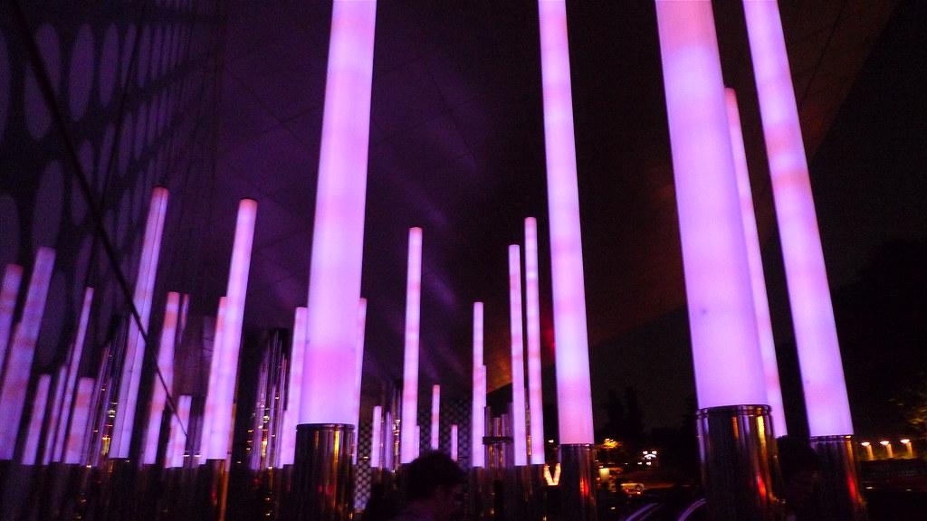 W Glow Stick Entrance