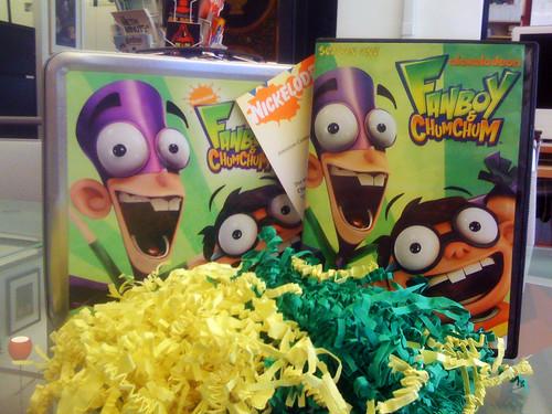 Fanboy & Chum Chum promotional lunchbox