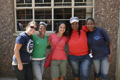 Heritage celebration at Progress High School - Elizabeth Barge, Dieo, Bia Stoltzfus, Ouma, Dimekatso