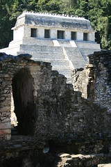 Pacal The Great (ytulauratambien) Tags: mexico mesoamerica ruins maya jungle mayanarchitecture temples palenque archeology chiapas basrelief roofcomb usumacintariver pacalthegreat tumbalámountains