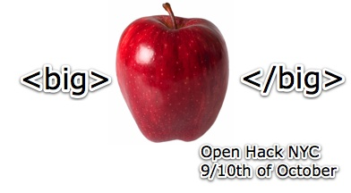 Open Hack NYC - be there!