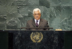 President of Palestinian National Authority Ad...