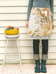 apron wrap... take two (dottie angel) Tags: me vintage myself recycled apron etsy andi crafter dottieangel