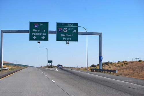 I-82 @ I-182