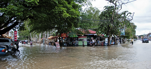 Siem Reap flooded 12