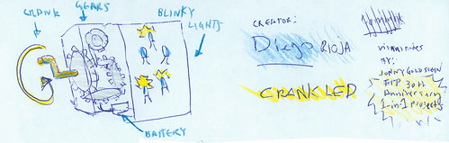 ITP 30th Anniversary  1-in-1 Visual Notes: Crank LED