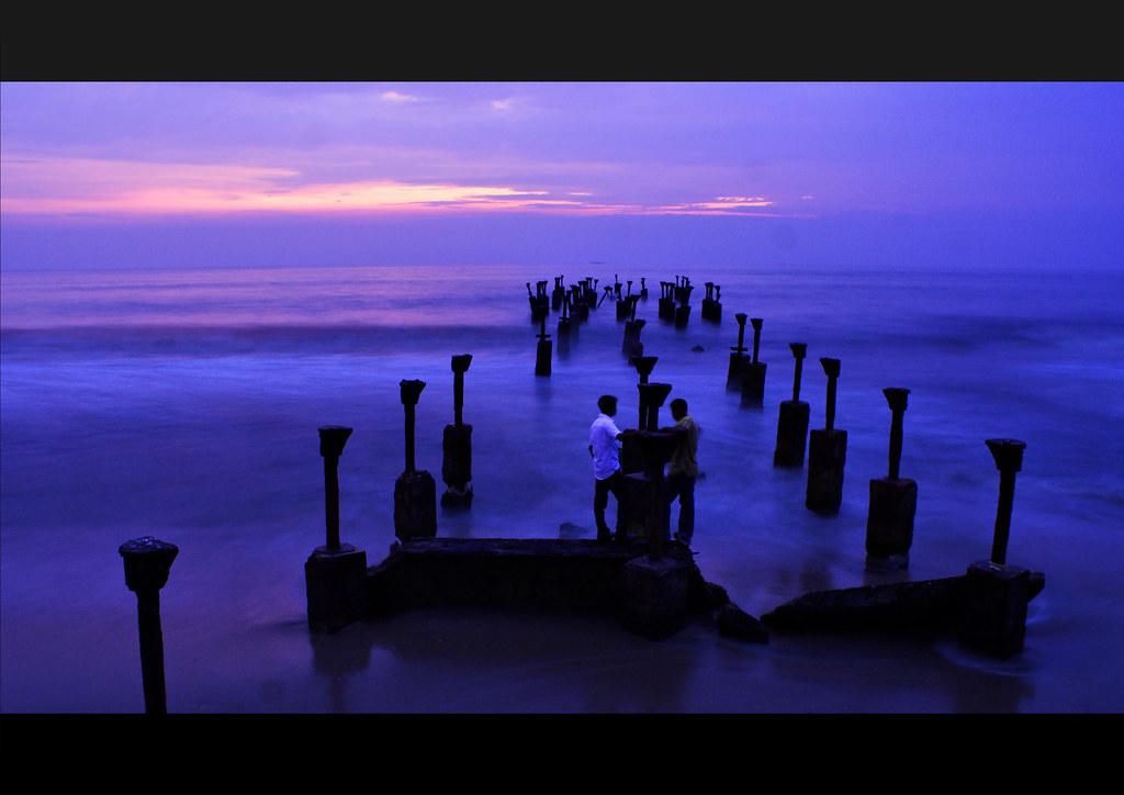 Evening at Calicut Beach...