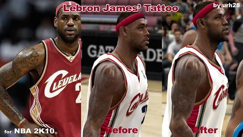lebron james tattoos. Lebron James#39; Tattoo