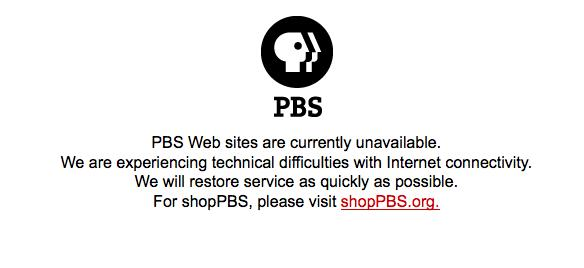 I returned to PBS.org after a while working on my tech issues to find this!