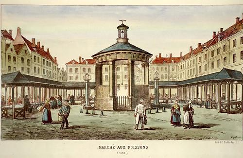 006-Mercado del pescado 1865-Lille ancien monumental Edouard Boldoduc  1893