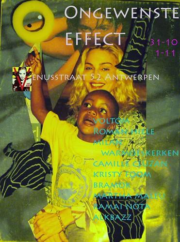 Ongewenste Effect Antwerpen 31 October