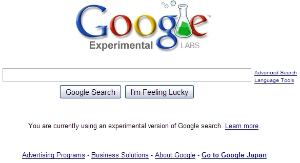 Google Experimental Labs