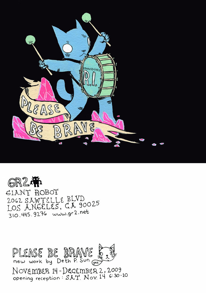 "Deth P. Sun ""Please Be Brave"", GR2 Los Angeles November 14-December 2"