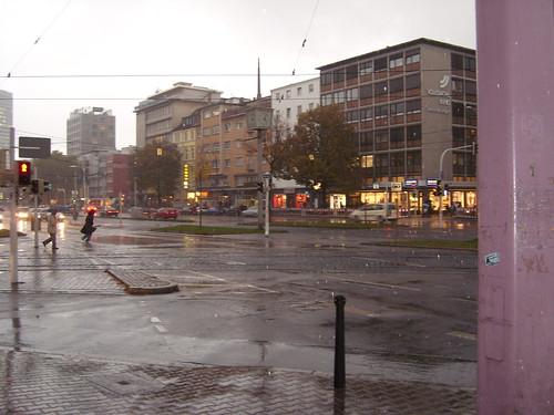 Mannheim im Regen