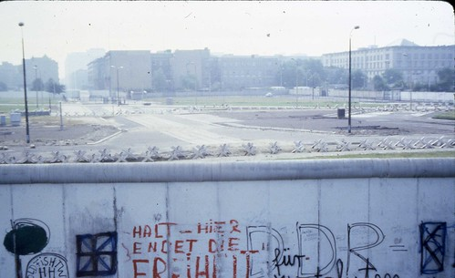 West Berlin 1980 - Berlin Wall #4