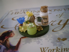 Enchanted Fairy Summer Afternoon Wandering Set-1:12 Scale (Enchanticals~ Death in Family) Tags: flowers blue flower miniature handmade fairy acorn fantasy tulip copper etsy fairies oaks sprites magical oaktree acorncap etsylove 112thscale dollhouseminiature onetwelfthscale minimakers faeteam damteam teammids enchanticals enchanticalsetsy miniaturesdollhousescale 112scaledollhousescale oneinchscaledollhouseminiature elemententals