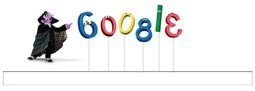 Count Von Count Google Logo