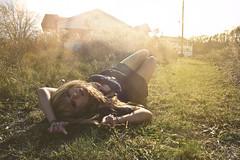 (yyellowbird) Tags: ohio sunlight house selfportrait abandoned girl glare explore lolita toledo cari frontpage