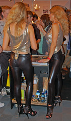 Promotion Girls 5 of 5 (Lazenby43) Tags: girls classiccar lycra nec