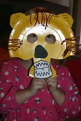 Anna's Lion Mask