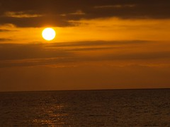Sunset over the Sea (Join Sparkle) Tags: travel sea mountains water sunrise islands landscapes scenery sunsets goldensunsets sunsetsparkle colourfulsunsets