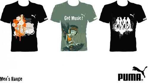 T-Shirts - PUMA Mens Range