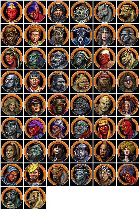 Heroes of Might and Magic 4 Chaos Heroes