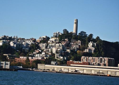 eden's shot of coit tower