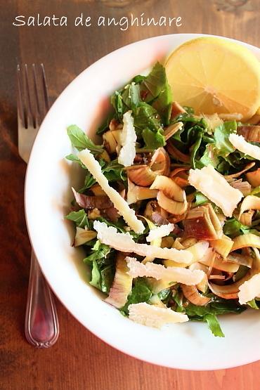 salata de anghinare