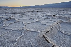 Cracked Earth, Badwater, Death Valley National Park, CA (D Breezy - davidthompsonphotography.com) Tags: california sunset nature lines canon landscape desert earth salt textures deathvalley cracks saltflats mojavedesert ivonne badwater deathvalleynationalpark belowsealevel 1740f4l dvnp 1740mml 5dmarkii canon5dmarkii