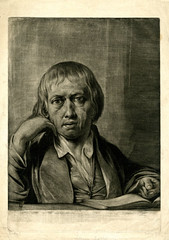 James Barry (Print made by); Self-portrait. British Museum (renzodionigi) Tags: portrait painting design engraving autoritratto ritratto arts fine selfportrait