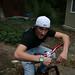 Paul Jackson rides bikes